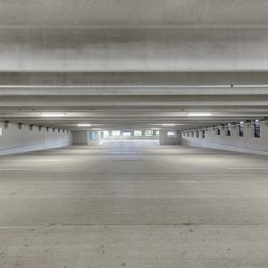 Apartment parking structure